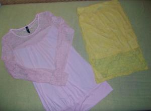 Krajkové šaty a sukně
