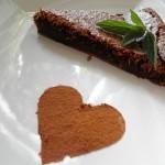 Čokoládový kořeněný dort bez mouky