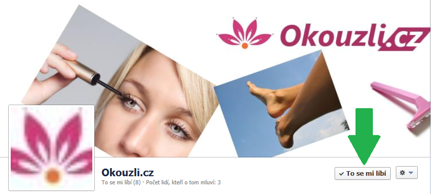 Facebook na Okouzli.cz