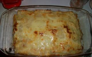 Lasagne - recept
