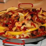Paella španělská pochoutka