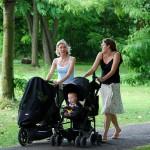 Dětský sportovní kočárek pro aktivní maminky