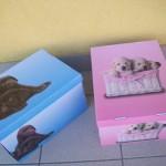Úschovné skládací krabice