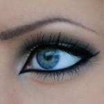 Oční linky ve fixu